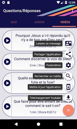 Questions/Reponses screenshots 13