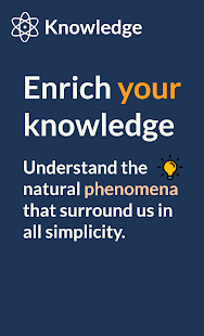 Knowledge: Learn more about the universe