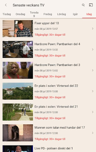 TV4 Play android2mod screenshots 9