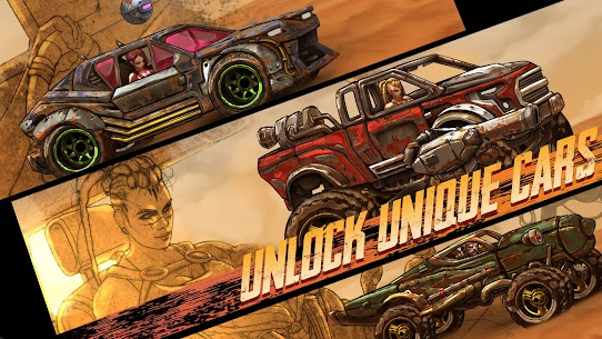 Road Warrior Mod Apk: Combat Racing (No Ads) Download 3