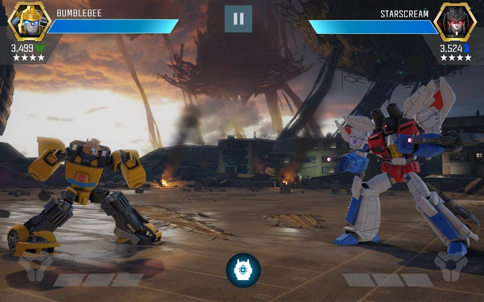 TRANSFORMERS: Forged to Fight Android App Screenshot