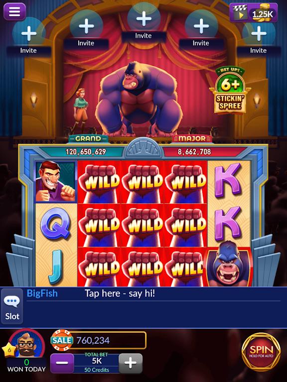 Big Fish Casino - Play Slots and Casino Games poster 12