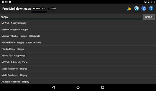 Free Mp3 Downloads 7.0.1 Screenshots 7