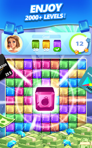 Lucky Diamond u2013 Jewel Blast Puzzle Game to Big Win 1.1.30 Screenshots 14