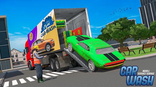 Mobile Car Wash Workshop: Service Truck Games 1.24 Screenshots 4