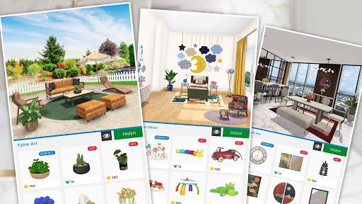 Home Makeover: Decorating Games & House Design Apkfinish screenshots 8