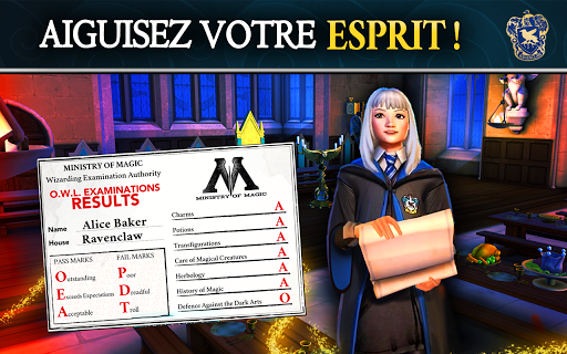 Code Triche HARRY POTTER Secret à Poudlard APK MOD (Astuce) screenshots 2