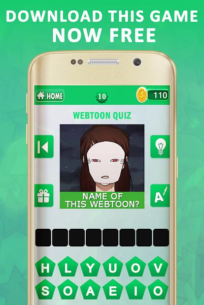 Captura de Pantalla 19 de Webtoon Quiz para android