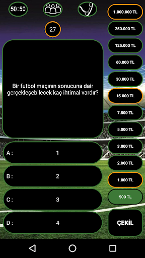 Futbol Bilgi Yarışması  screenshots 2