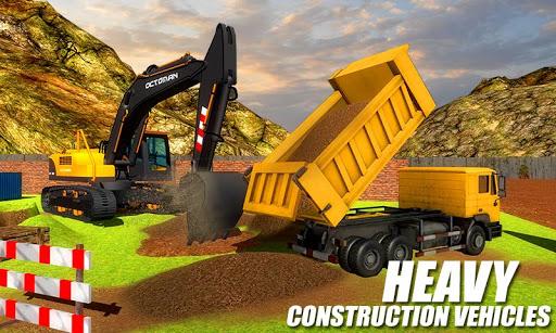 Heavy Excavator Crane - City Construction Sim 2020 1.1.3 screenshots 3
