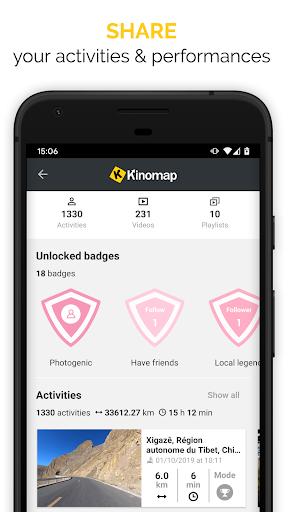 Kinomap - Indoor training videos  Screenshots 4
