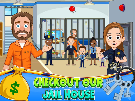My Town : Police Station. Policeman Game for Kids screenshots 10