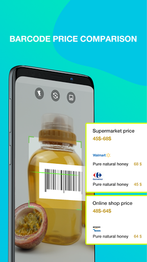 QR Code & Barcode Scanner - free  screenshots 1