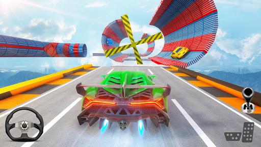 Gangster Car Stunt Games: Mega Ramp Car Simulator screenshots 1