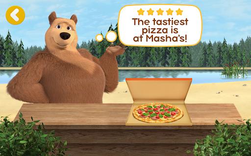 Masha and the Bear Pizzeria Game! Pizza Maker Game  screenshots 16