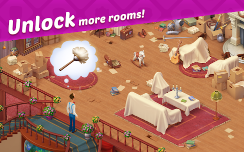 Homescapes MOD APK 4.6.2 (Unlimited Stars) 13