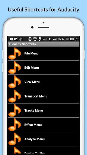 Free Audacity Shortcuts 6.6.6.2 Screenshots 10