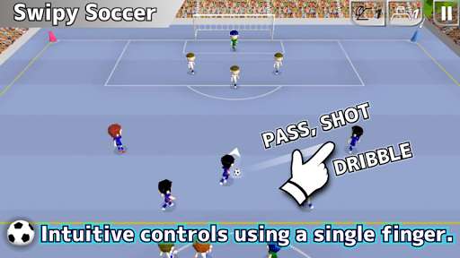 swipy soccer screenshot 2
