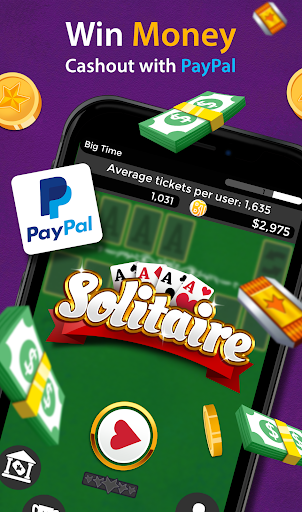 Solitaire - Make Free Money & Play the Card Game 1.8.8 Screenshots 2
