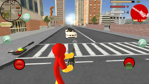 Iron Stickman Rope Hero Gangstar Crime 4.0 Screenshots 7