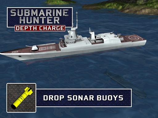 Submarine Hunter Depth Charge screenshots 6