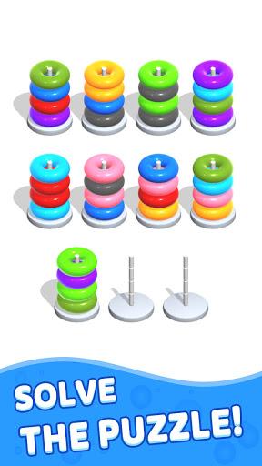 Color Hoop Stack - Sort Puzzle 1.1.2 screenshots 3