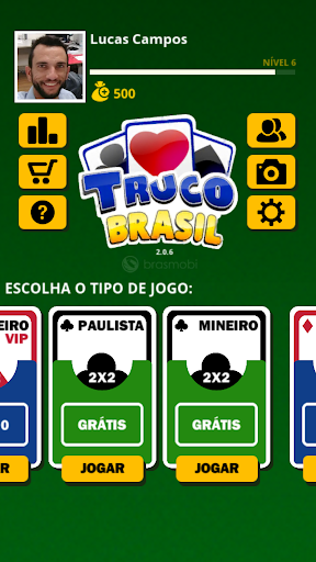 Truco Brasil - Truco online apklade screenshots 2