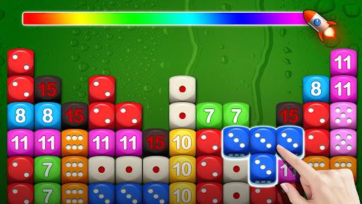 Dice Puzzle 3D-Merge Number game apktreat screenshots 1