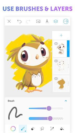 PicsArt Color - Painting, Drawing & Sketch  screenshots 3