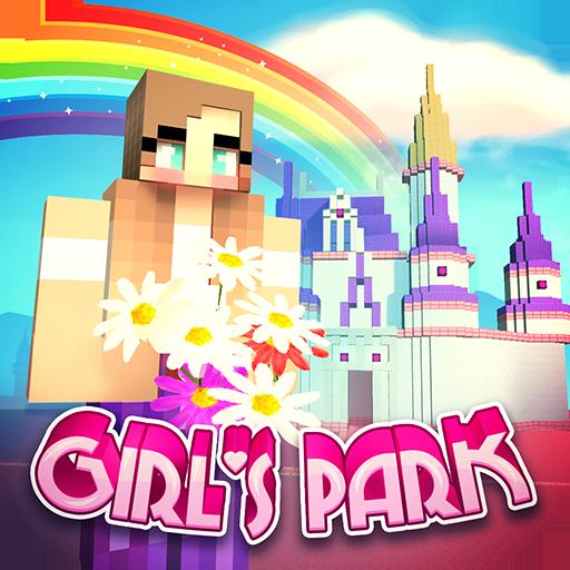 Baixar Girls Theme Park Craft: Water Slide Fun Park Games para Android
