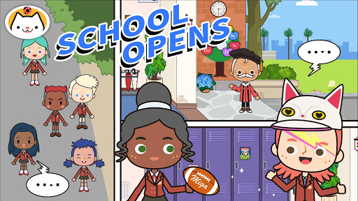 Miga Town: My School 1.2 Screenshots 1