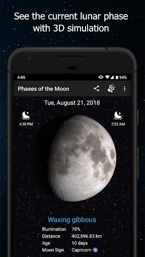 Phases of the Moon Calendar & Wallpaper Pro  screenshots 1
