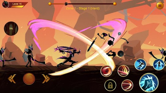 Shadow fighter 2  Shadow  ninja fighting games Apk Download NEW 2021 4