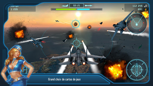 Télécharger Battle of Warplanes: Air Jeu  APK MOD (Astuce) screenshots 1