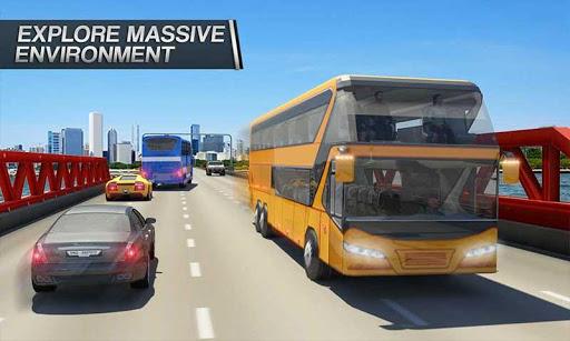 Coach Bus Simulator - City Bus Driving School Test 2.1 screenshots 1