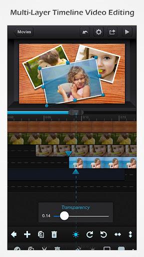 Cute CUT - Video Editor & Movie Maker  Screenshots 1