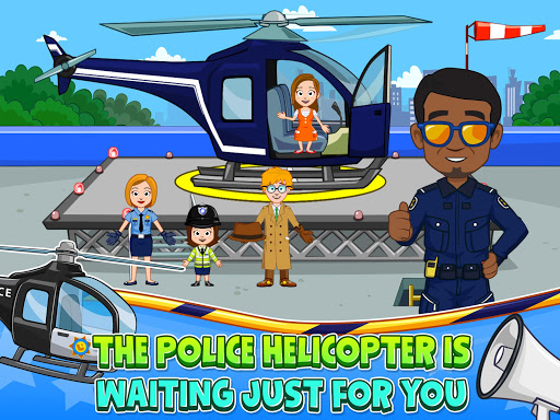 My Town : Police Station. Policeman Game for Kids screenshots 9