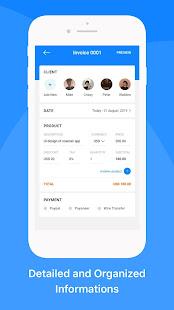 Mobile Invoice Maker App. Quick Invoice, Estimate