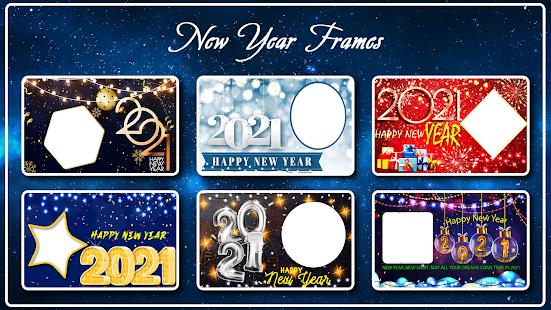 Happy New Year Photo Frame 2021 photo editor 2.2 Screenshots 9