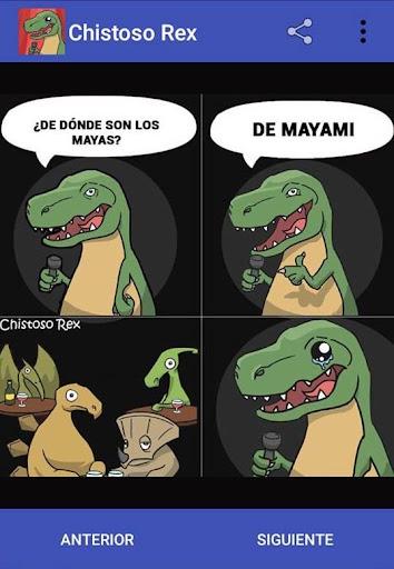 Chistoso Rex Chistes Malos y Divertidos screenshots 3