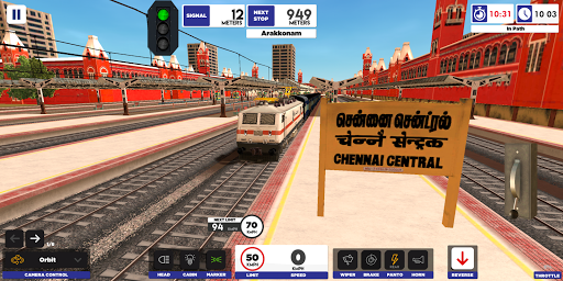 Indian Train Simulator  screenshots 1