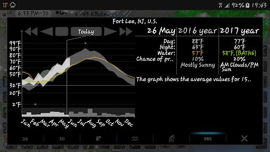 eMap HDF - weather, hurricanes and rain radar 2.2.8 Screenshots 11