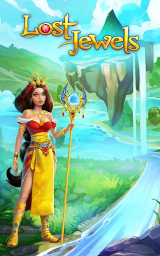 Lost Jewels - Match 3 Puzzle  screenshots 1