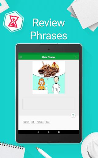 Speak German - 5000 Phrases & Sentences modavailable screenshots 22