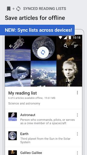 Wikipedia Beta android2mod screenshots 4
