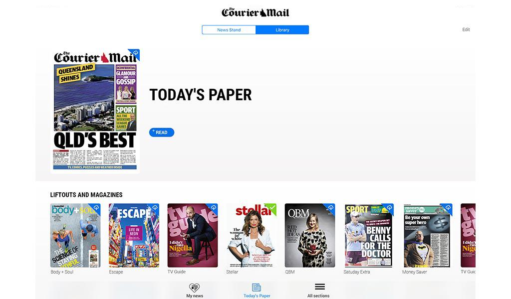 The Courier-Mail  poster 13
