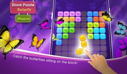 Block Puzzle - Beautiful Butterfly; Mission 1.0.22 screenshots 1