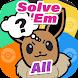 Solve Em All - Poke Quiz Hard Questions