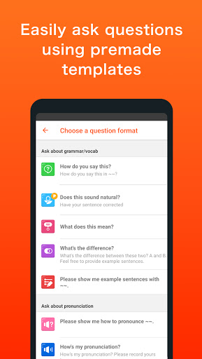 HiNative - Q&A App for Language Learning 8.20.2 Screenshots 4