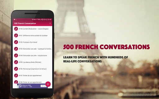 French Conversation: Learn to speak French android2mod screenshots 4